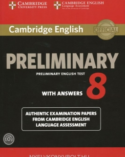 Cambridge Preliminary English Test 8 with Answers: Examination Papers from University of Cambridge ESOL Examinations