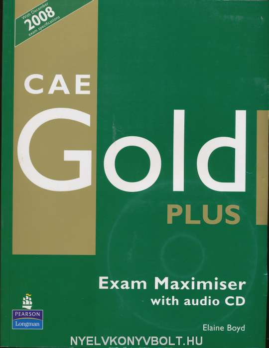 CAE Gold Plus Exam Maximiser with Audio CD