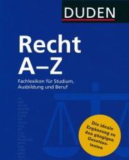 Duden Recht A-Z Fachlexikon für Studium, Ausbildung und Beruf