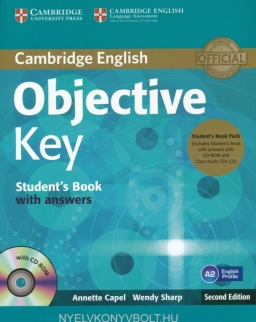 Objective Key Student's Book with Answer and Class Audio CDs and CD-ROM Second Edition