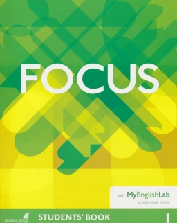 Focus 1 Student's Book with Word Store and with MyEnglishLab Access Code