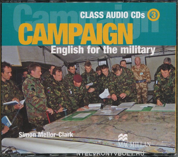 Campaign - English for the Military 3 Class Audio CD