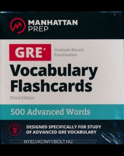 GRE Vocabulary Flashcards - 500 Advanced Words - 3rd Edition