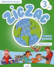 ZigZag 3 Méthode de francais Livre de l'éleve + CD Audio A2.1