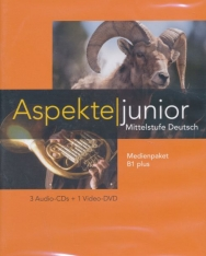 Aspekte junior B1 plus Medienpaket (3 Audio-CDs + Video-DVD)
