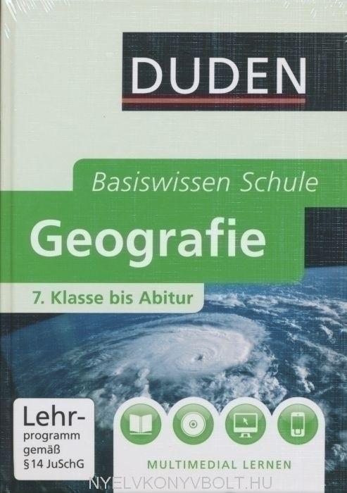 Duden Basiswissen Schule Geografie 7. klasse bis Abitur Buch mit DVD-ROM