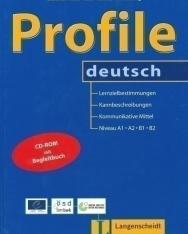 Profile Deutsch A1-A2-B1-B2 Kursbuch mit CD-ROM
