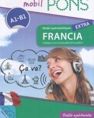 Pons Mobil nyelvtanfolyam Extra - Francia A1-A2 Könyv + 2 CD