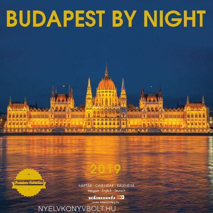 Budapest by Night falinaptár 2019 (30x30)