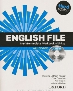 English File - 3rd Edition - Pre-Intermediate Workbook with Key and Ichecker CD-ROM