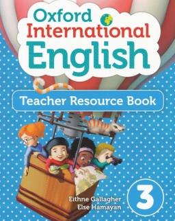 Oxford International English Level 3 Teacher Resource Book with CD-ROM