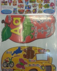 Big Shapes Alphabet!  Bulletin Board Set