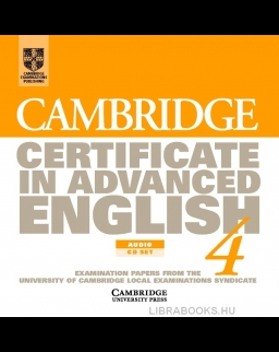 Cambridge Certificate in Advanced English 4 Audio CDs