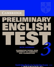 Cambridge Preliminary English Test 3 Official Examination Past Papers 2nd Edition Student's Book with Answers