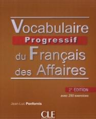 Vocabulaire progressif du français des affaires 2e édition Livre +CD audio