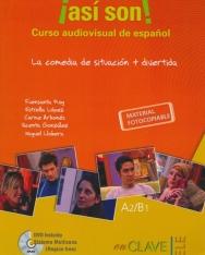 Así son! Curso audiovisual de espańol - La comedia de situación + divertida - Material Phoitocopiable
