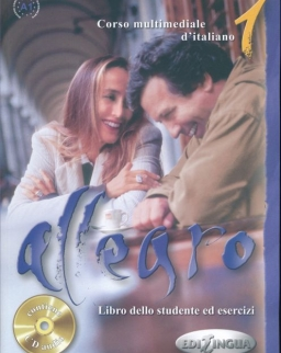 Allegro 1 Libro dello studente ed eserczizi - Corso multimediale d'italiano contiene Audio CD