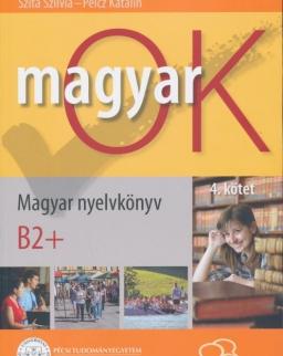 MagyarOK B2+ - Magyar Nyelvkönyv és Nyelvtani Munkafüzet - Letölthető Hanganyaggal