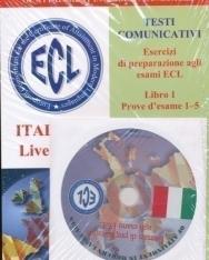 ECL Testi Comunicativi Esercizi di Preparazione agli Esami ECL Italiano Livello B2 + Audio CD