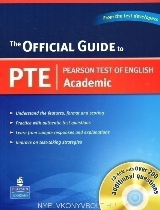 The Official Guide to PTE Academic with CD-ROM