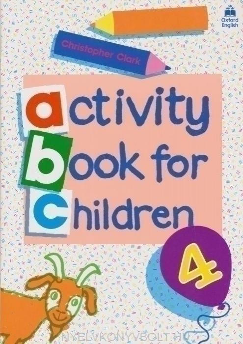 Activity book for children 4