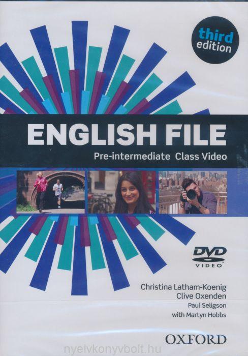 English File 3rd Edition Pre-Intermediate Class Video DVD