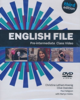 English File 3rd Edition Pre-Intermediate Class Video DVD