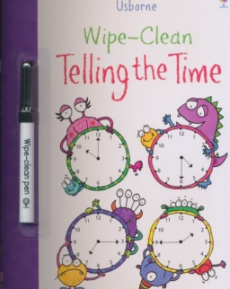 Usborne Wipe-Clean Telling the Time