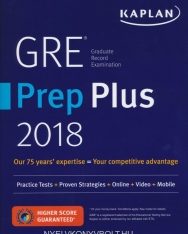 Gre Prep Plus 2018: Practice Tests + Proven Strategies + Online + Mobile + Video + Moblie (Kaplan Test Prep)