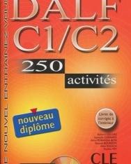 DALF C1/C2, 250 activités Livre + MP3 Audio CD