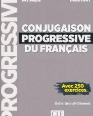 Conjugaison progressive du français - Niveau débutant - Livre + CD - 2eme édition Nouvelle couverture