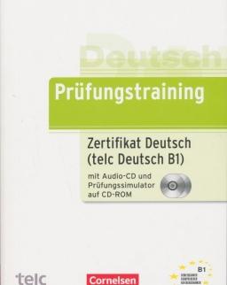 Prüfungstraining Zertifikat Deutsch (telc Deutsch B1) mit Audio-CD und Prüfungssimulator CD-ROM