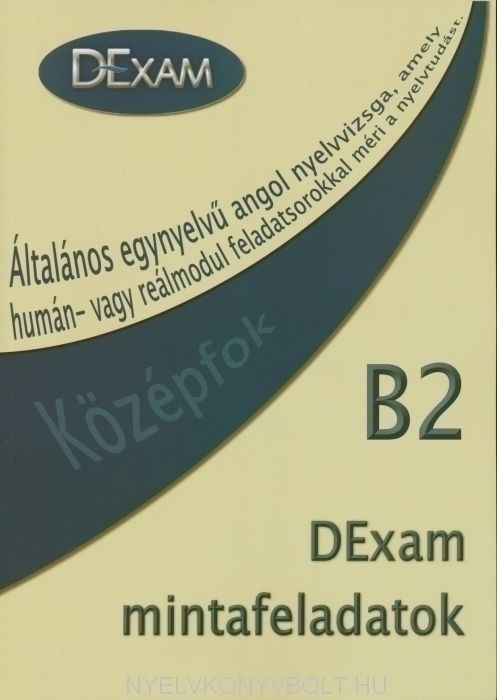 DExam mintafeladatok B2 Középfok Könyv + Audio CD