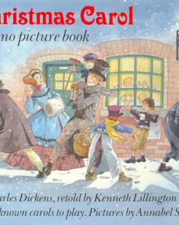 A Christmas Carol - easy piano picture book
