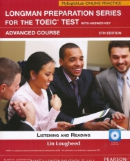 Longman Preparation Series for the TOEIC Test Advanced Course Listening & Reading with Key, MP3 CD & MyEnglishLab Access Code - 5th Edition