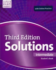 Solutions 3rd Edition Intermediate Student's Book with Online Practice