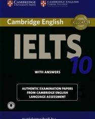 Cambridge IELTS 10 Official Examination Past Papers Student's Book with Answers with Audio