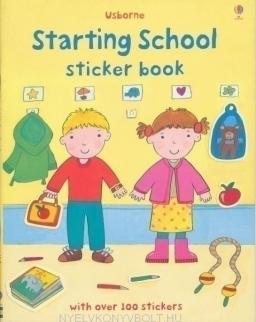 Starting School Sticker Book