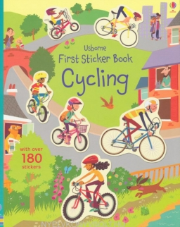 Usborne First Sticker Book Cycling