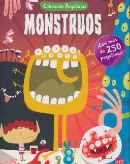 Monstruos - Colección Pegatinas