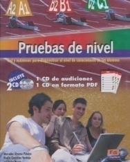 Pruebas de nivel - Test y exámenes para diagnosticar el nivel de conocimiento de los alumnos (1 CD de audiciones & 1 CD en formato PDF)