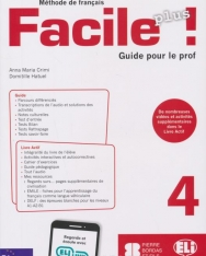Facile Plus 4 - Guide pour le prof + 2 CD audio