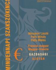 Francia-magyar, magyar-francia gazdasági szótár (MX-1349)