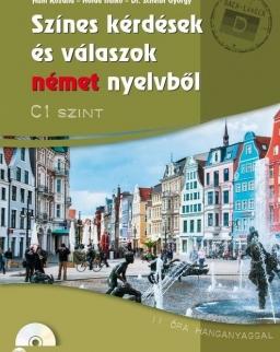 Színes kérdések és válaszok német nyelvből - C1 szint (CD-melléklettel)  (MX-1282)