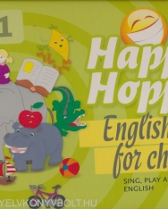 Happy Hoppy társasjáték (CD melléklettel) - English for Children (5 in 1)
