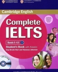 Complete IELTS Bands 5-6.5 Student's Book with Answers, CD-ROM & Class Audio CDs (2)