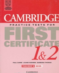 Cambridge Practice Tests for First Certificate 1 & 2 Teacher's book