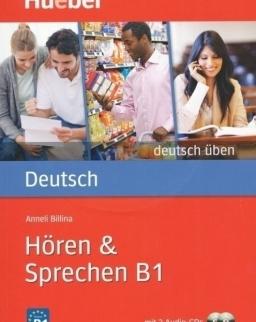 Deutsch üben - Hören & Sprechen B1 mit 2 Audio-CDs