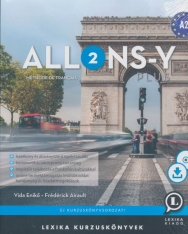 Allons-y PLUS 2 - Méthode de français – Francia kurzuskönyv (A2)