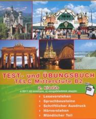 Test- und Übungsbuch TELC Mittelstufe B2 mit Mp3 - 2. kiadás